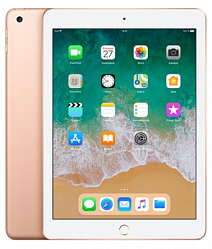 Планшет Apple iPad (2018) 128Gb Wi-Fi Gold