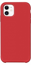 Накладка Silicon Case для Iphone 11 Matte Red