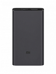 Аккумулятор внешний Xiaomi Mi Power Bank 3 10000 mAh Type-c + 2USB Fast Charge PLM13ZM Black