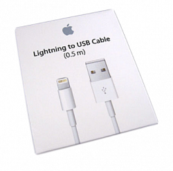 Кабель Lightning USB Apple (0.5m) ME291ZM/A orig